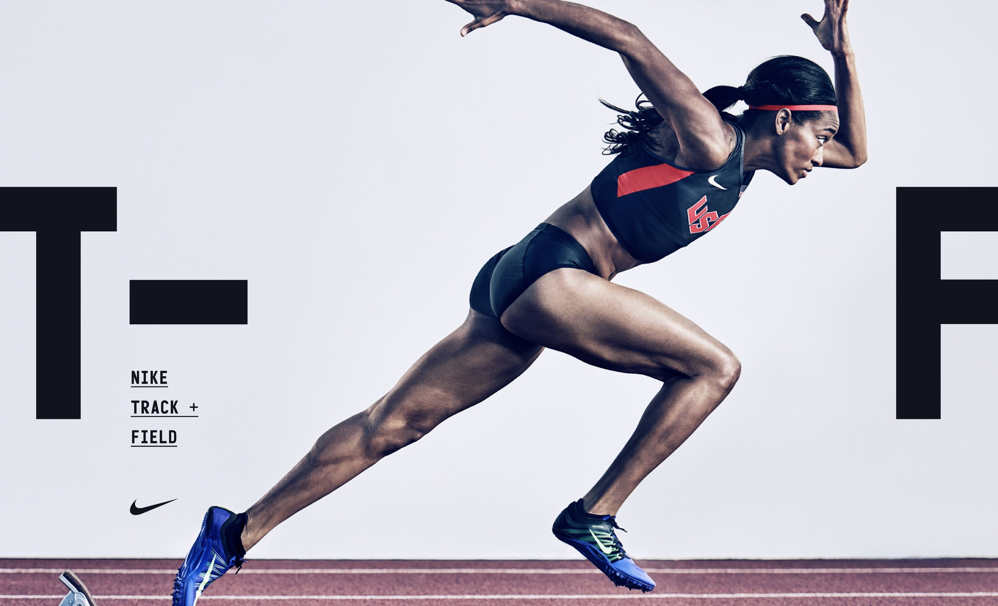 "Check out this Behance project ""Nike Track and Field"