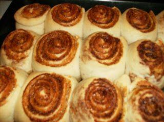 Cake with cinnamon or cinabon ~ Magic rolling pin
