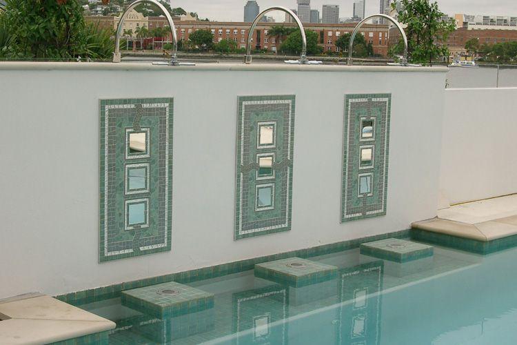 Bulimba Pool Wall Decor