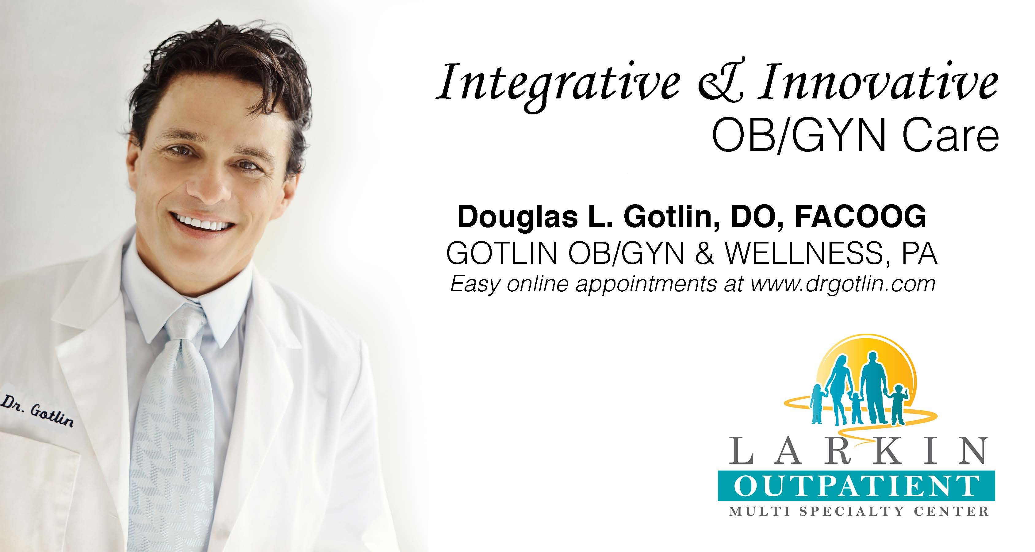 We are pleased to announce and welcome Dr  Douglas Gotlin