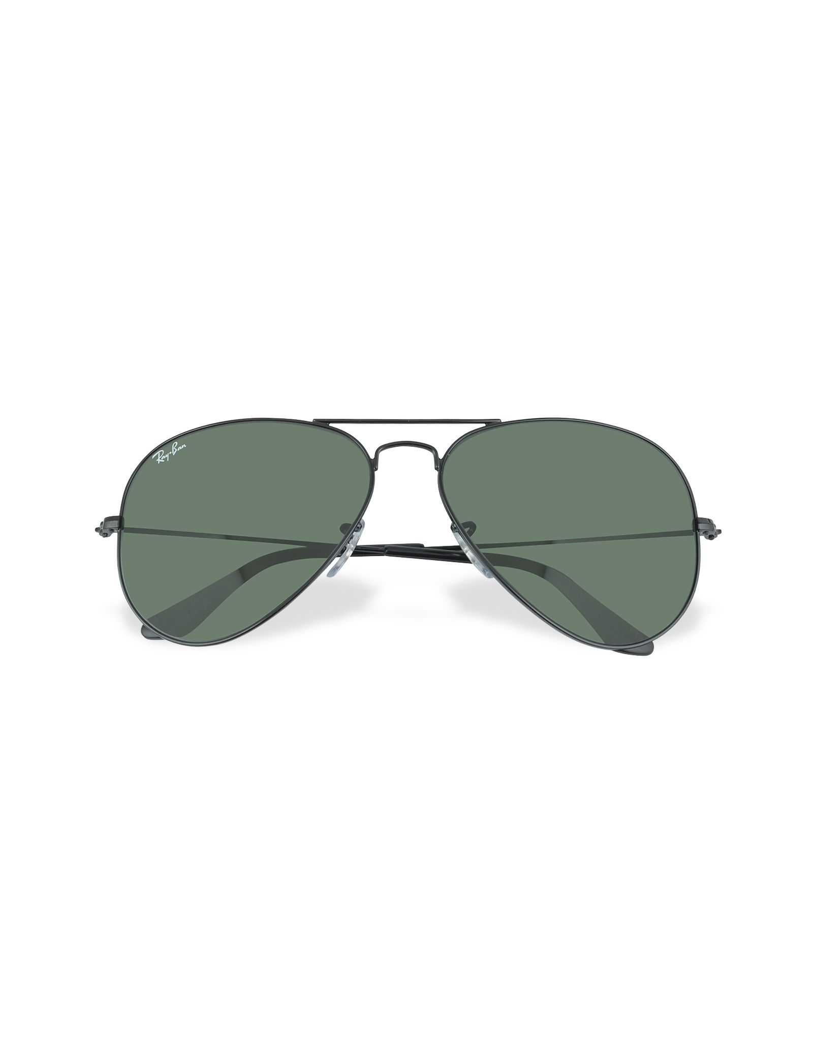 6ace04a21c54a Rayban Aviator Large Metal Sunglasses in Black for Men Lyst ...