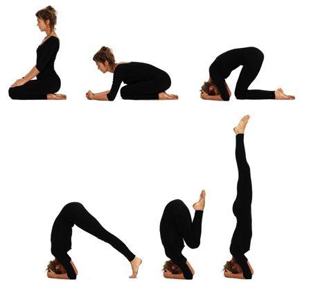 hoofdstand yoga  google zoeken  yoga pose