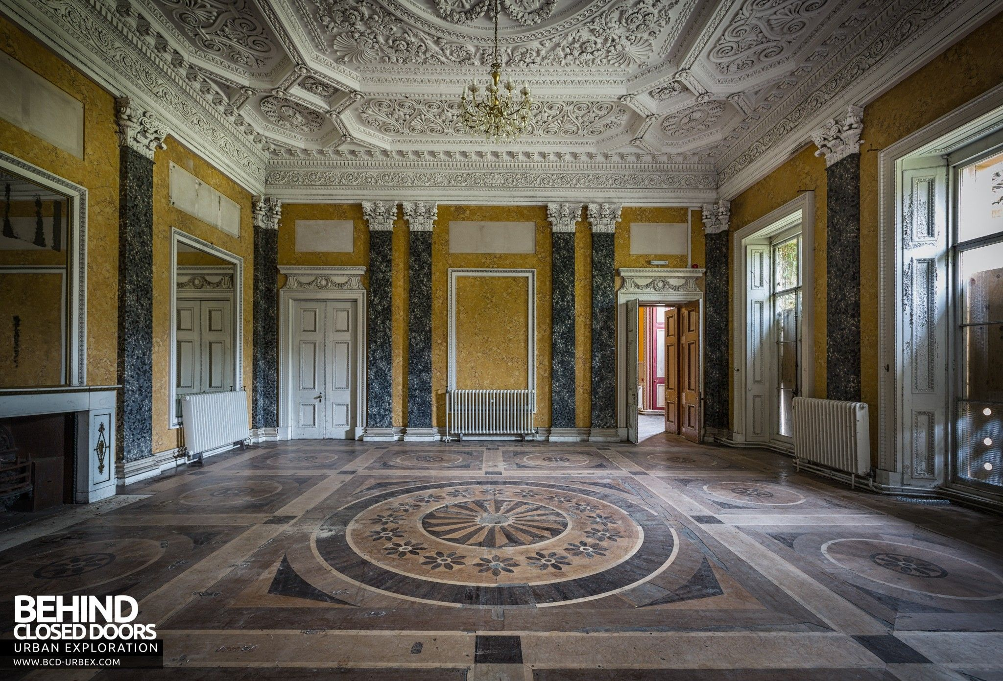 Tottenham House Severnake Grand Room With Marble Walls And Amazing Parquet Floor Old Mansions Wiltshire Tottenham