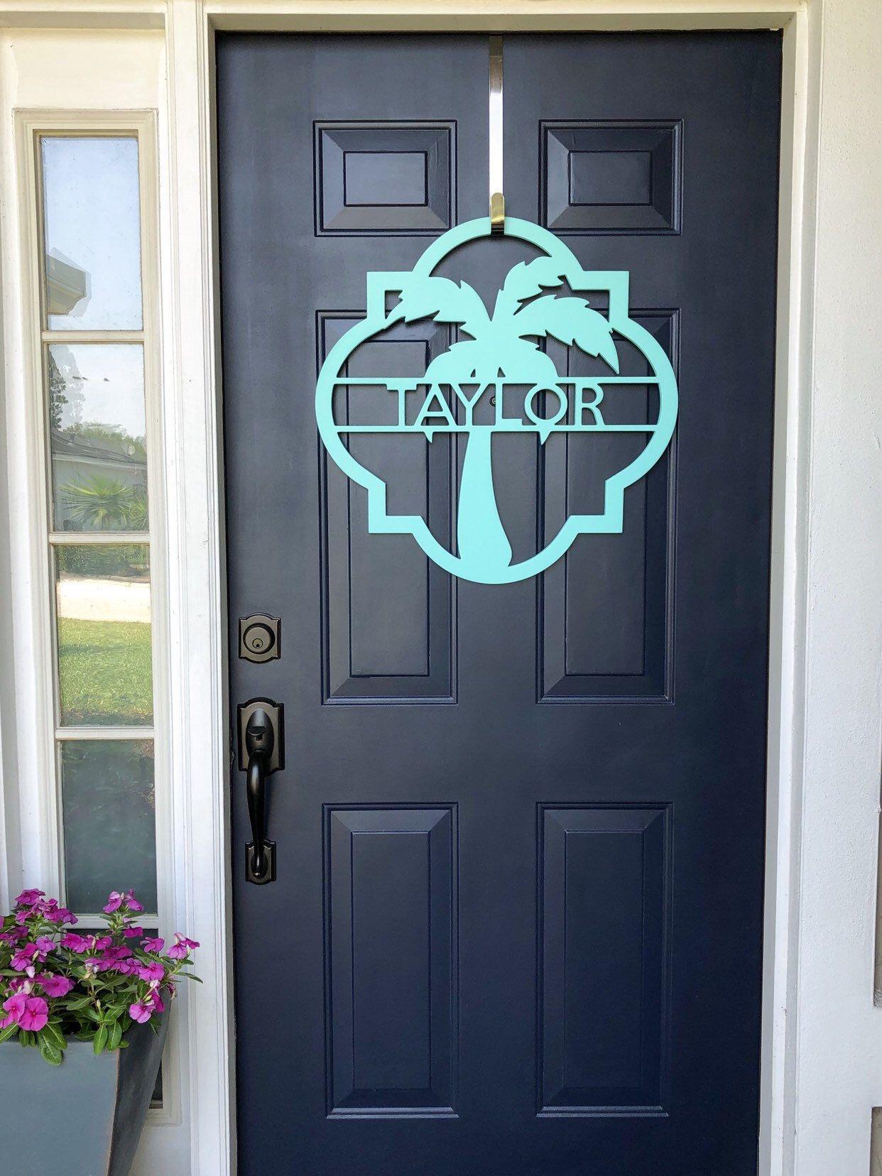 Door WreathSign