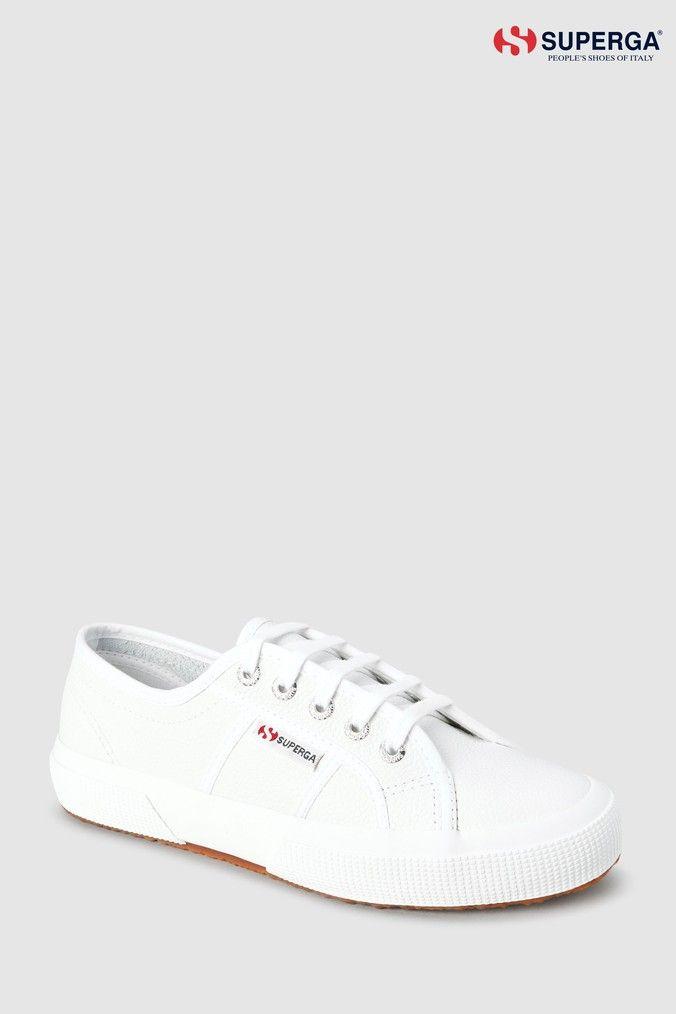 Superga White 2750 Cotu Classic Trainer