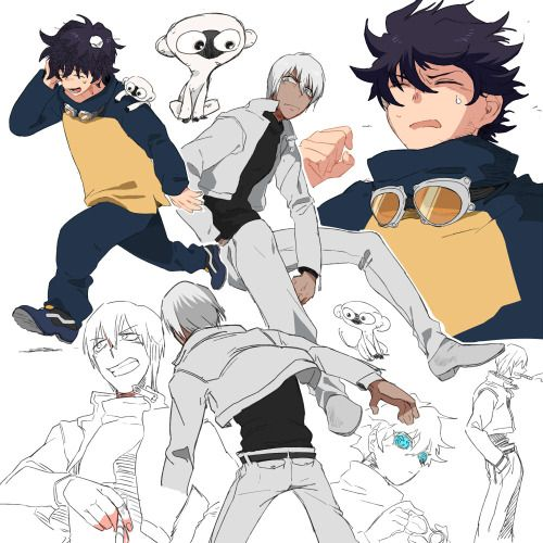 fan art- Kekkai Sensen-