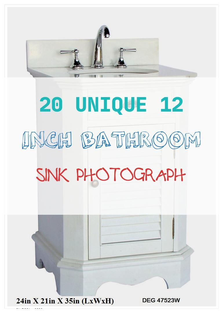 15 Inspirational 12 Inch Bathroom Sink Collection In 2020 With Images Small Bathroom Makeover Single Bathroom Vanity