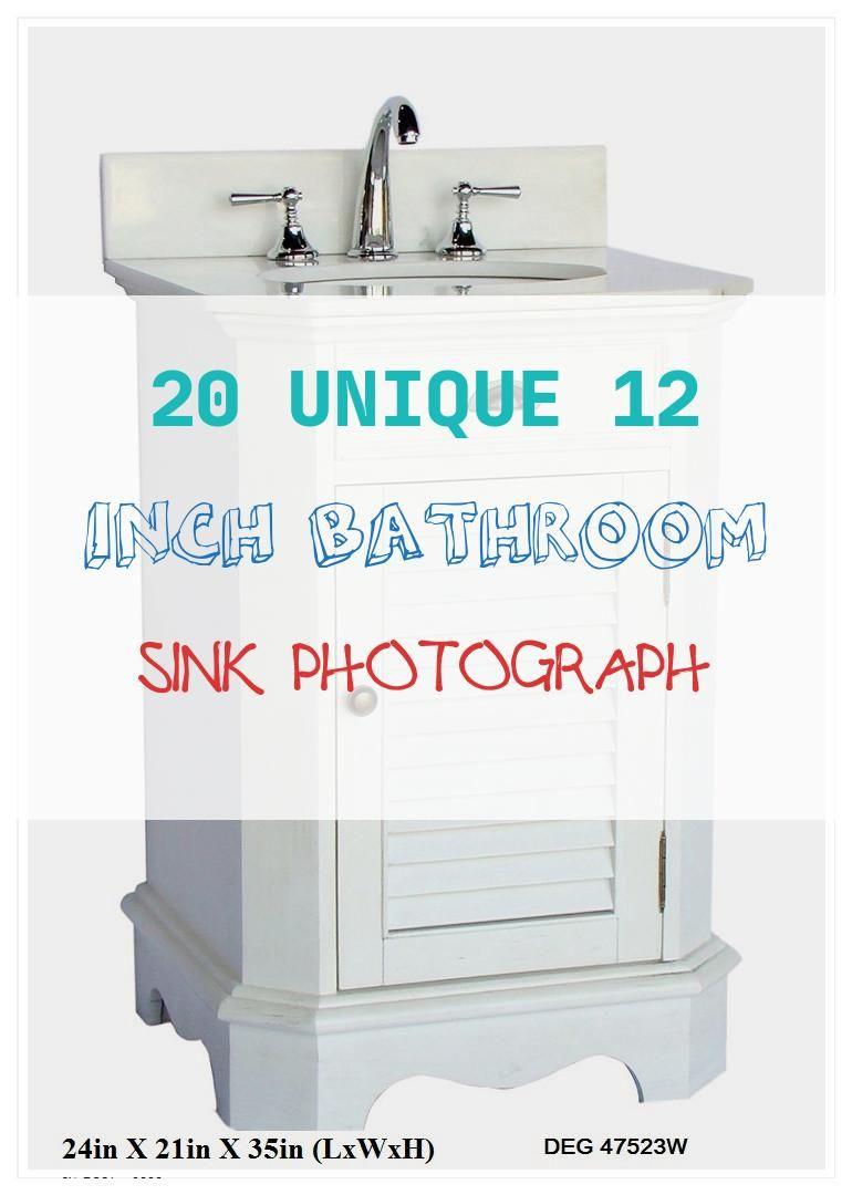 15 Inspirational 12 Inch Bathroom Sink Collection Single Bathroom Vanity Small Bathroom Makeover Bathroom Sink
