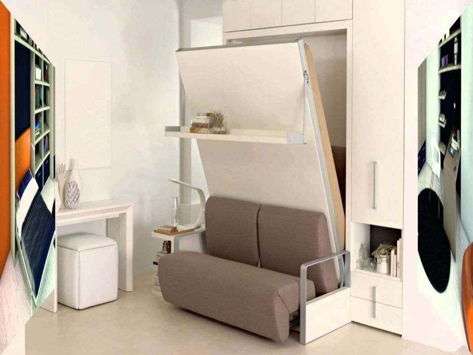 Murphy Bed Design Pictures Featuring Wrought Iron Bed Shelf And