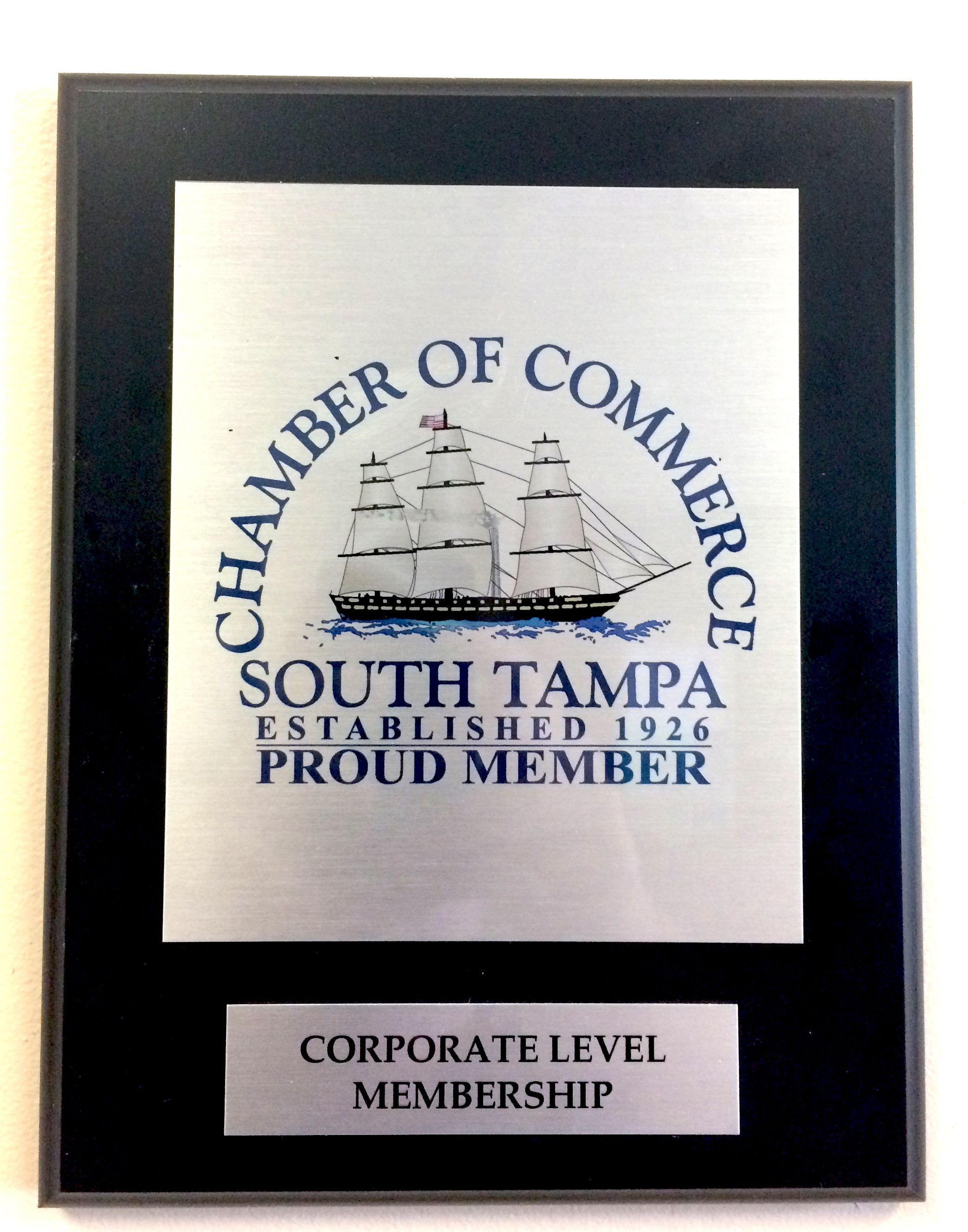 Proud new members of the South Tampa Chamber of Commerce