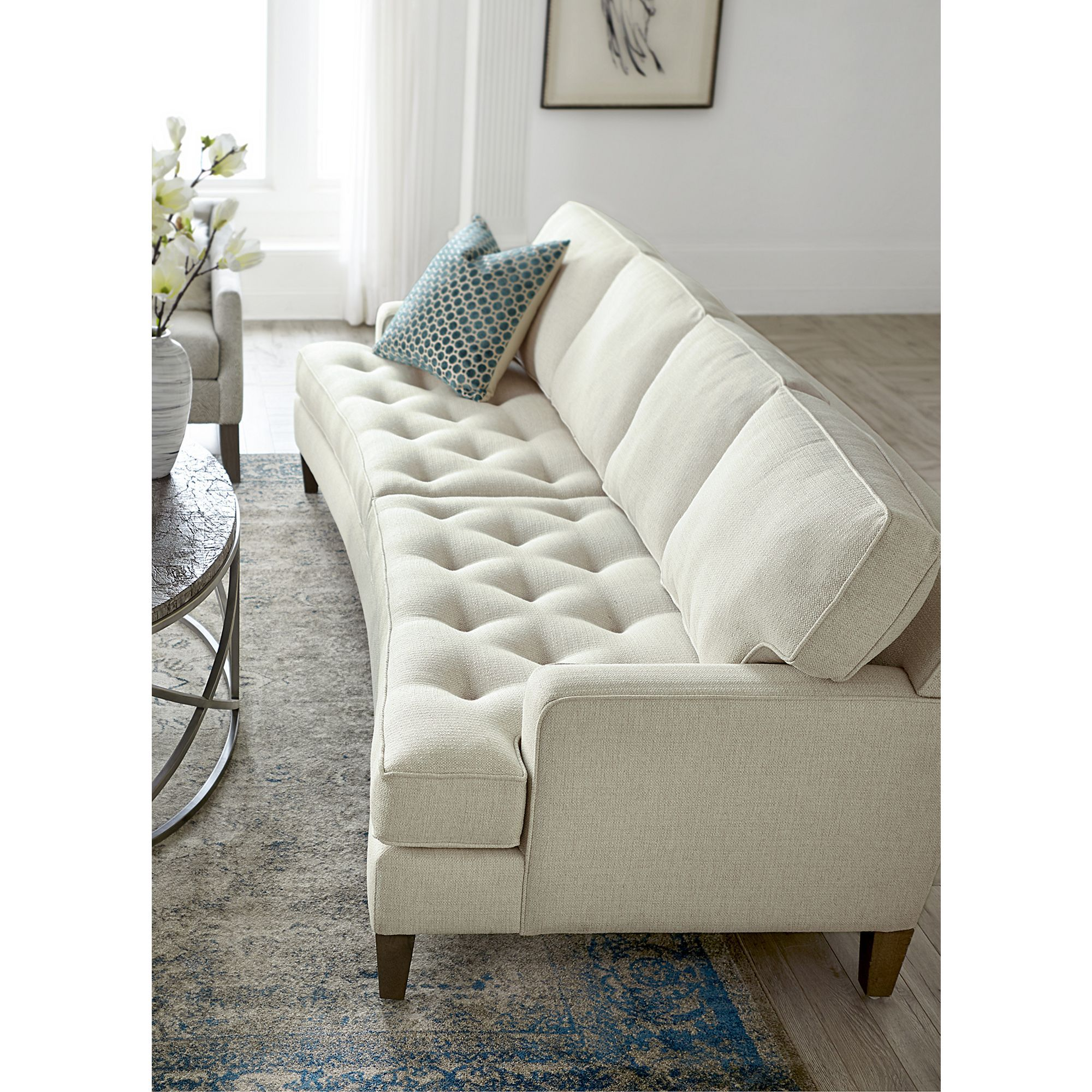 Havertys Gianna Xl Couch Small Family Room New Living Room Sofa
