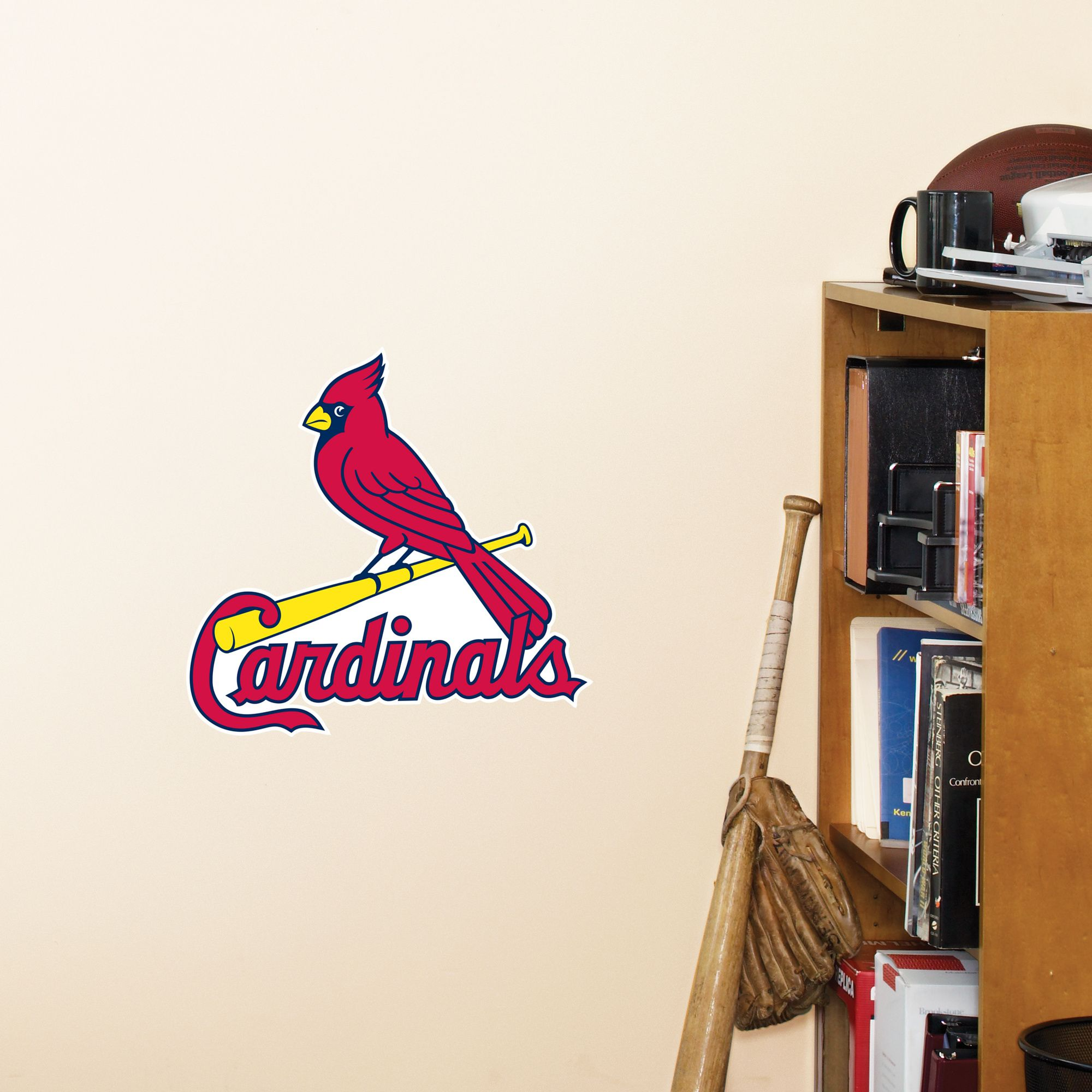 St Louis Cardinals Teammate Fathead Wall Graphic St Louis Cardinals Wall Decal Sports Decor Baseball
