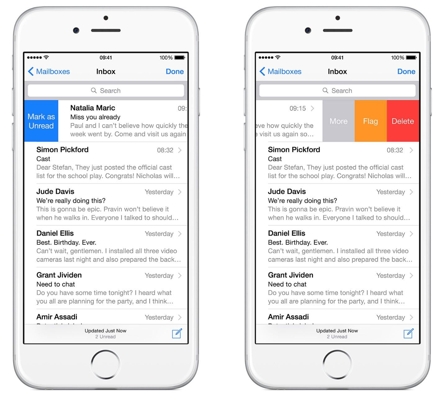 Best iphone email app outlook or mail duke it out