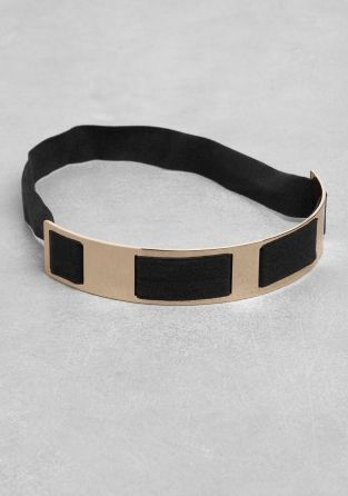 & Other Stories | Metal Plate Headband