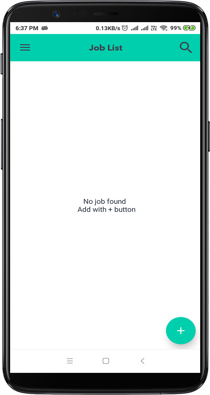 Speed Job android application with Laravel admin panel