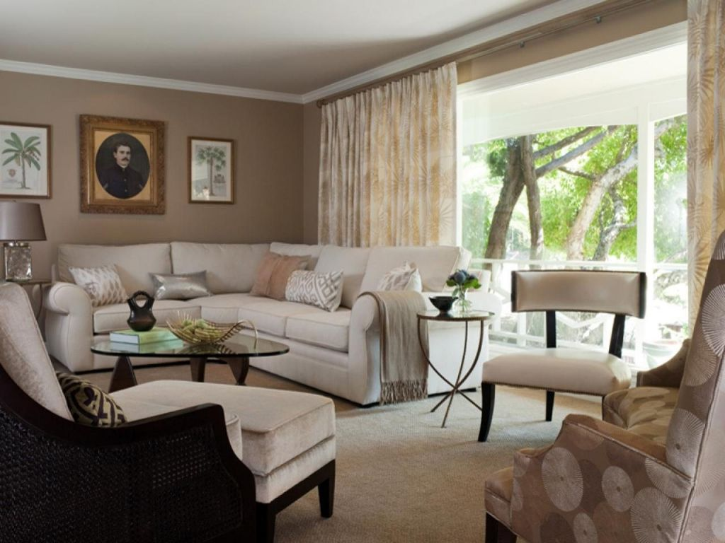 Cool Beige Brown Living Room Ideas Intended For Found Household Check More  At ...