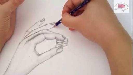 Karakalem El çizimleri Resimli Kolay Tattoos