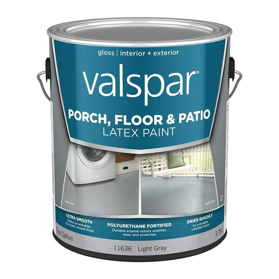 valspar light gray gloss interior exterior porch and floor on lowes paint colors interior gray id=84168