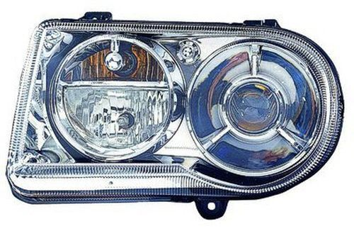 2010 Chrysler 300 Left Driver Side Halogen Head Light Assembly With Delay Option From Production Date 11/01/2008 Ch2502226