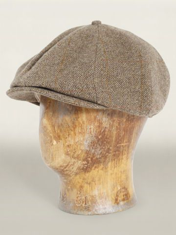 8 Panel Newsboy Hat - ralphlauren.com Just saw this pinned, we have this in our store, monkeysuitvintage.com! Ours has awesome tweed flecks too, and is made in USA. Awesome people in New Jersey.