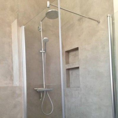 das fugenlose bad 19 rustikale b der pinterest badezimmer badideen und renovierung. Black Bedroom Furniture Sets. Home Design Ideas