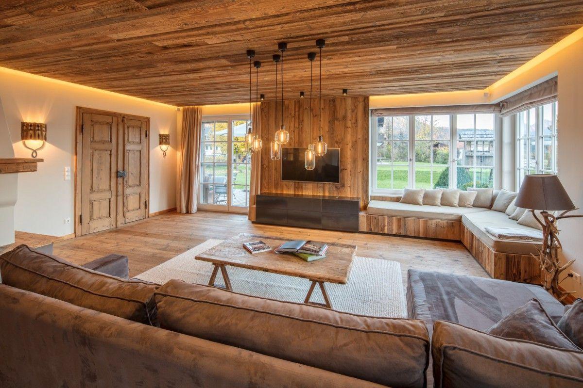HK Architektur. St. Johann in Tirol Wohnzimmerneugestaltung ...