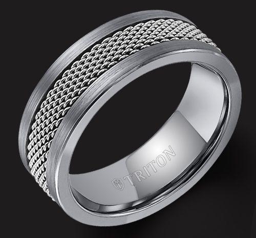 Triton Jewelry Men S Wedding Band Devons Jewelers Devonsjewelers Com