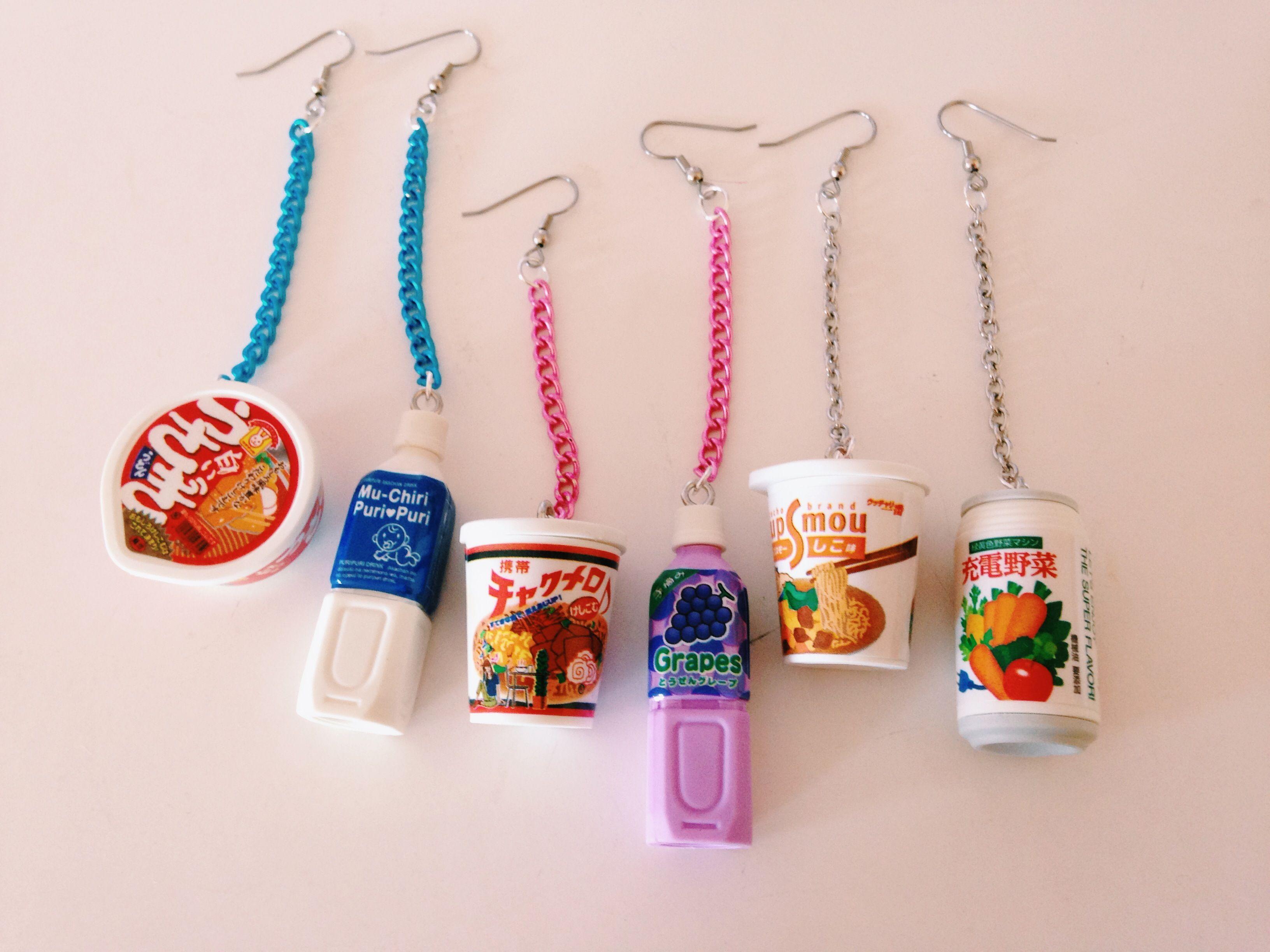 Kawaii Meal Earrings