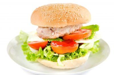 Receta saludable y f cil de hamburguesa baja en calor as - Comidas sanas y bajas en calorias ...