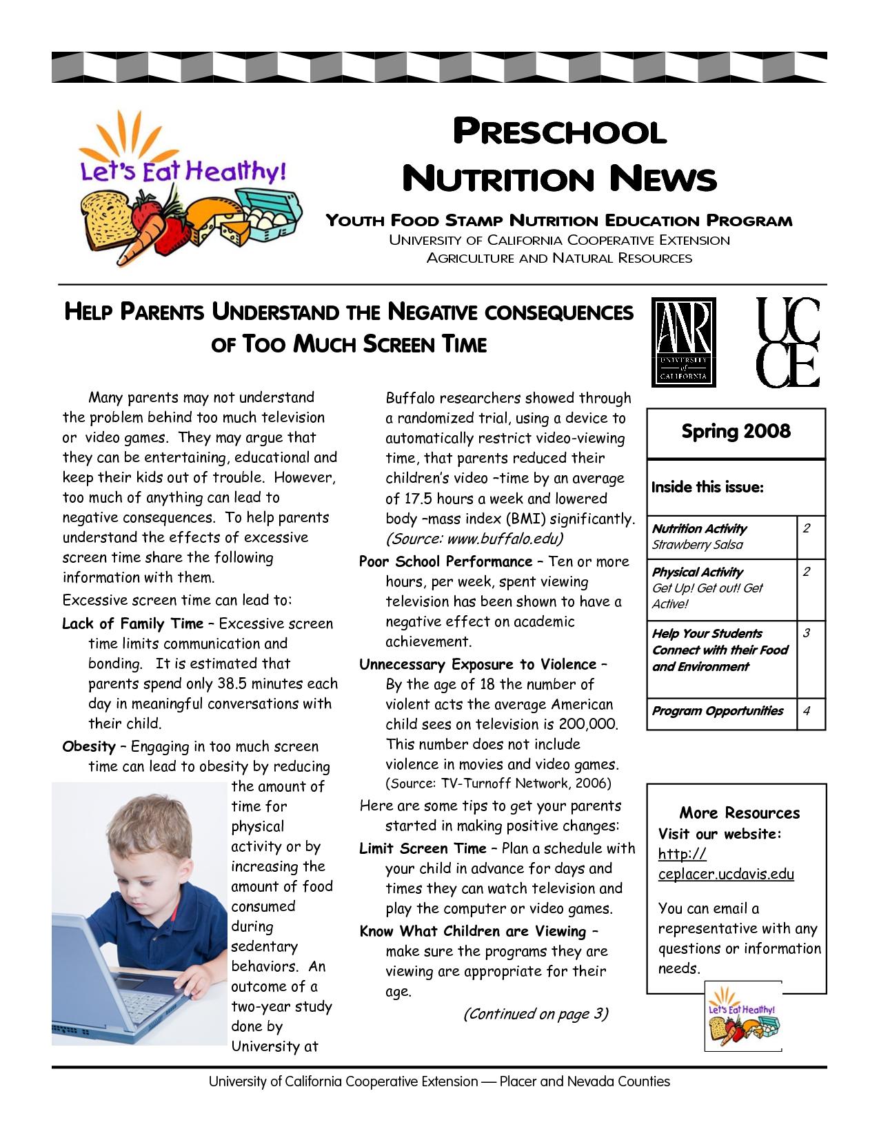 December School Newsletter Ideas informed about