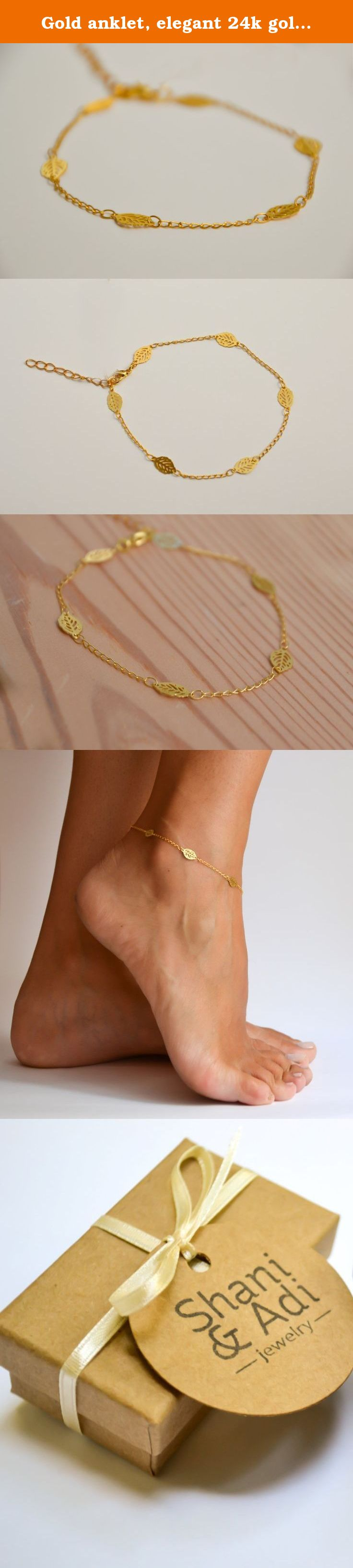bracelet vermeil women c bracelets friendship copper gold rose ankle charms taupe with anklet cord