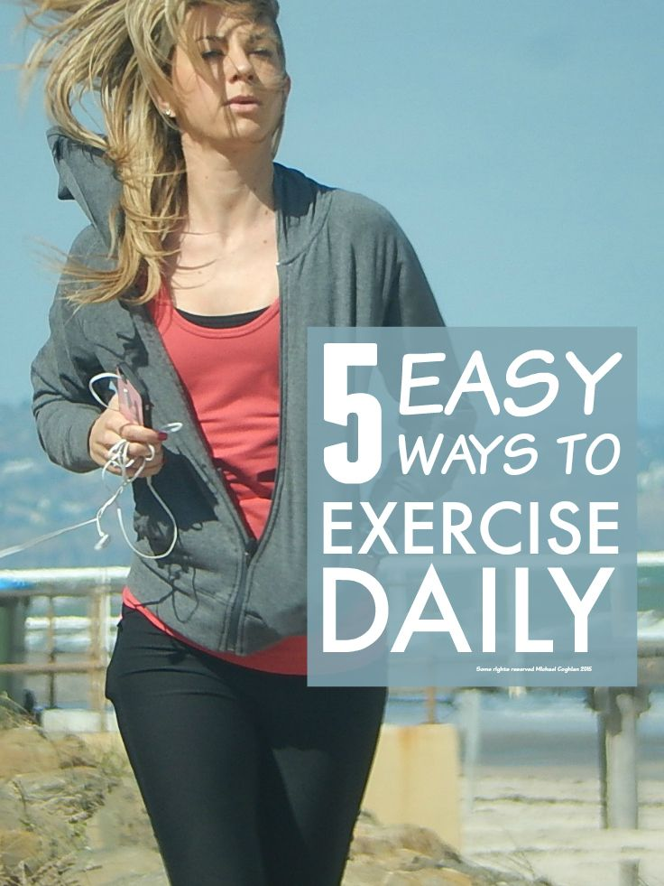 5 Brilliant Ways To Build Exercise Into Your Daily Life