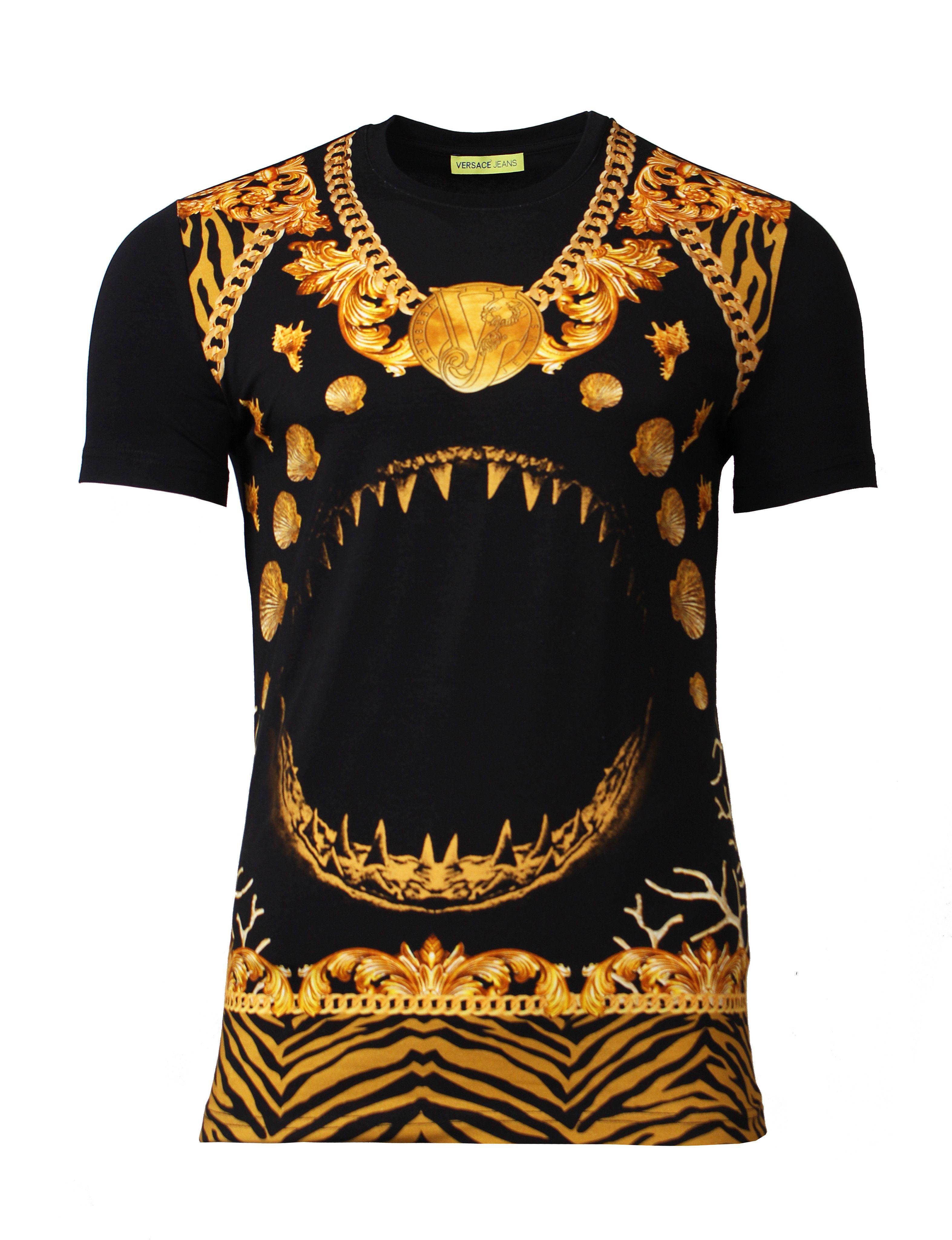 b5b9a5b20 Jersey Manarola(BLACK). Jersey Manarola(BLACK) Versace T-shirt