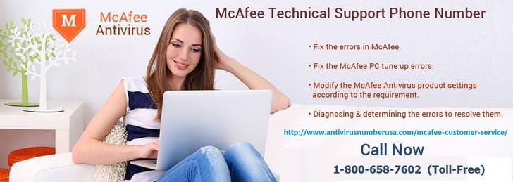 Mcafee technical support number 18006587602 usa