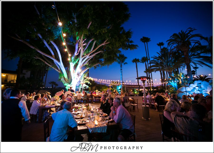Celebrate at sunset during your south pool patio reception