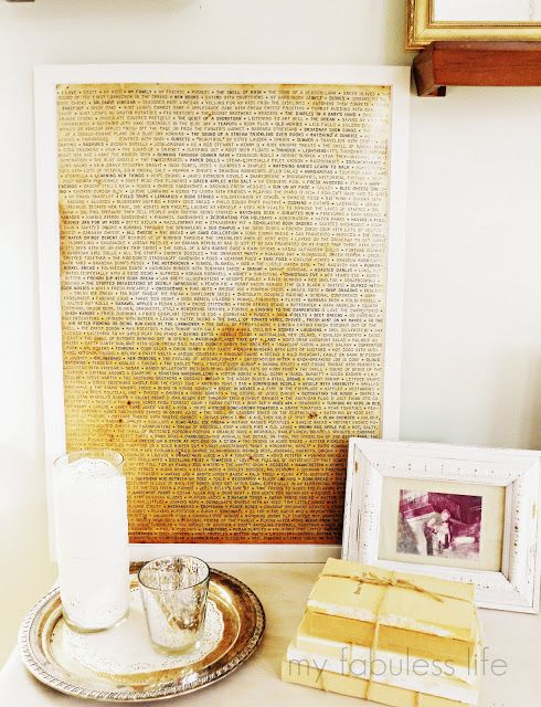 A Simple, Sentimental Piece | Project ideas, Craft and Diy wall art