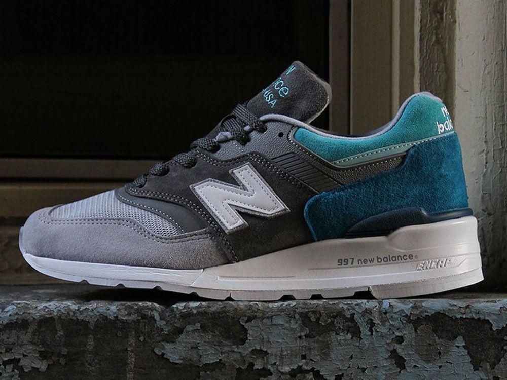 Model New Balance 997 Wraca Z Wariantem Color Spectrum New Balance Sneaker Magazine Retro Shoes
