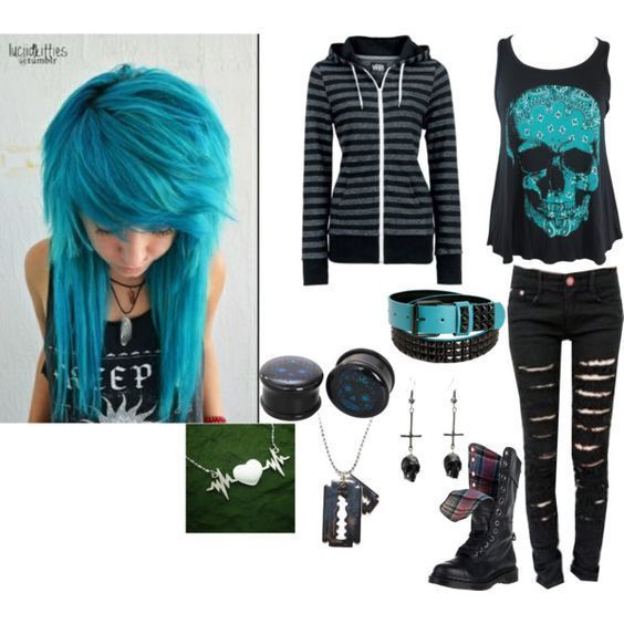 20 EMO Outfits Ideas Worth Checking Out | BleuGalaxy #emooutfits