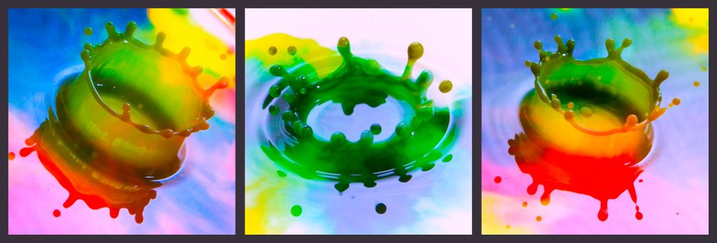 Multicolor ploppage...