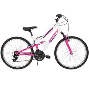 Huffy 26 Ladies Trail Runner Model 56872 Wh Walmart Com Cheap Mountain Bike Womens Bike Huffy