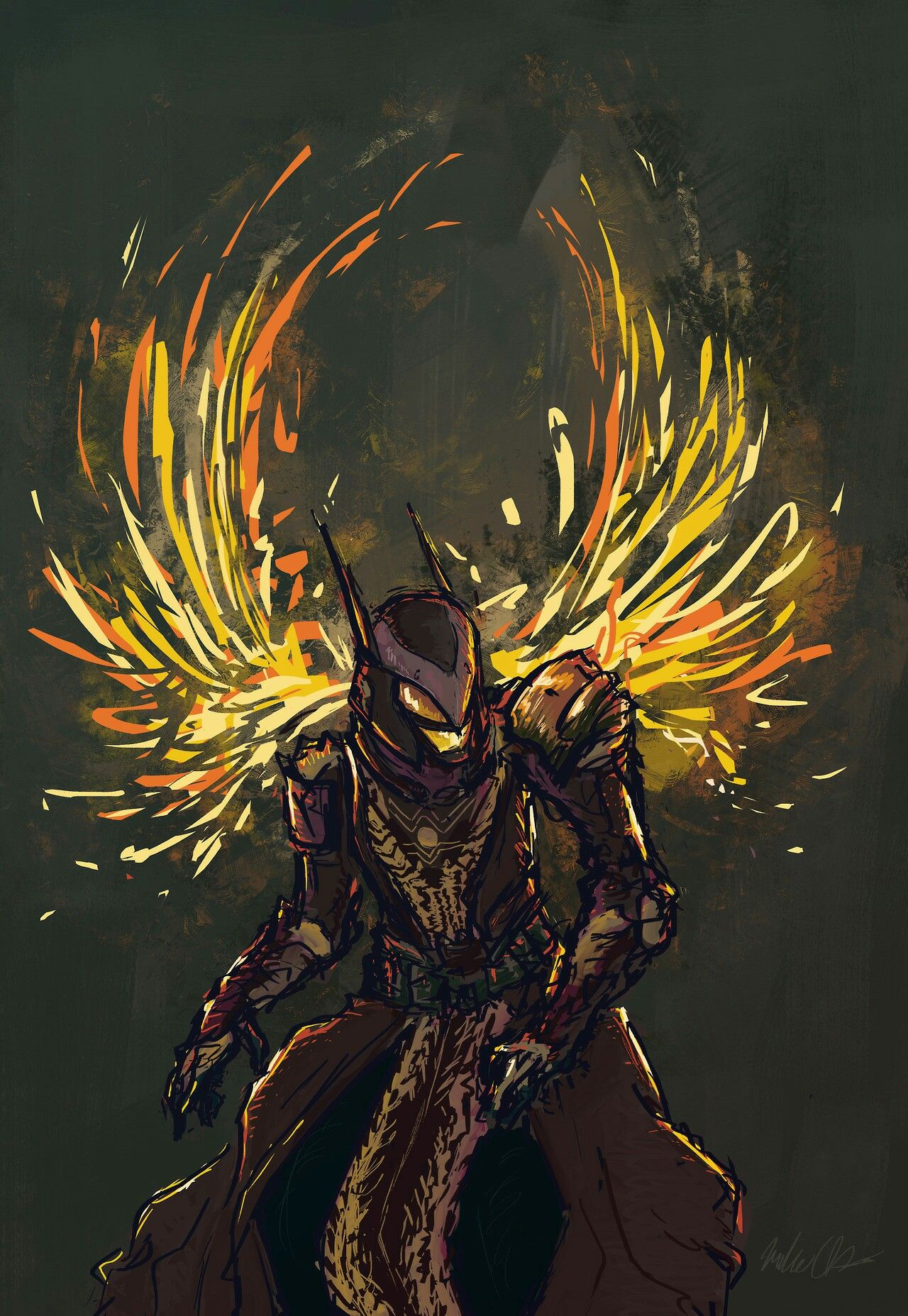 """""""Sunsingers are pretty neat"""" by atheriss Destiny bungie"""