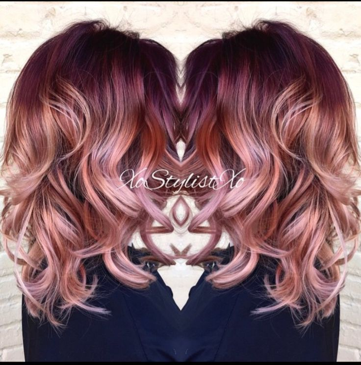 Image Result For Best Metallic Hair Color For Warm Skin Tone