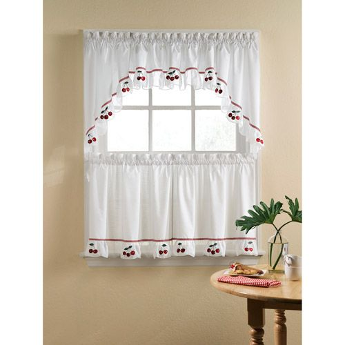 Walmart Com Kitchen Curtains Cortinas Estores Decoracion De Unas