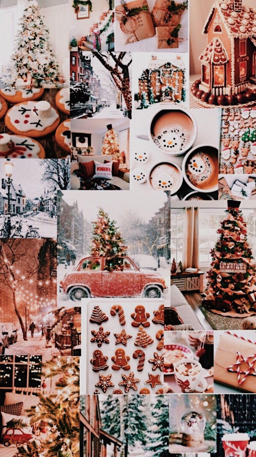 Christmas aesthetic  #collageboard