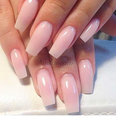 28light pink nail designs 2017  square acrylic nails