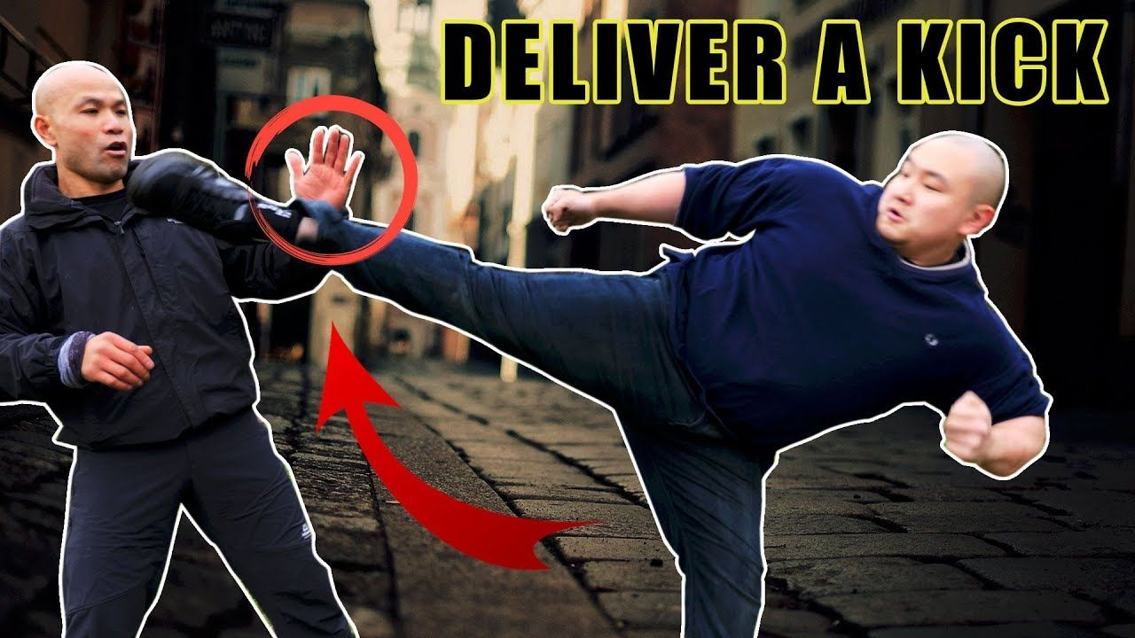 How to deliver a kick street fight with images
