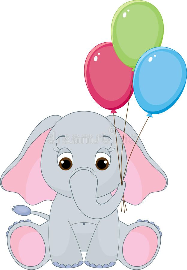 Leuke Babyolifant Royalty-vrije Stock Fotografie - Afbeelding ...