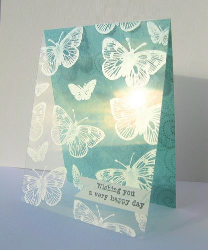 Stamping on acetate ang mansfield cards i 39 d like to for Mansfield arts and crafts show
