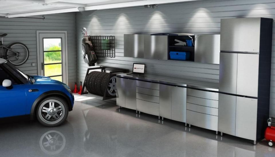 42 Best Garage Lighting Designs Ideas For 2020 Garage Design Interior Garage Remodel Garage Design