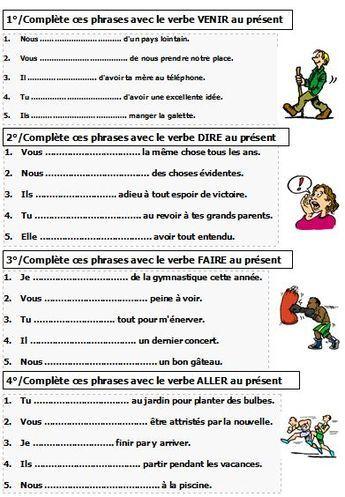 Verbes Du Premier Groupe Exercices Anazhthsh Google Exercice Verbe Exercices Conjugaison Apprentissage De La Langue Francaise